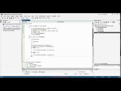 Topic 2 C# Programming Part I A (Basic) CodedUI Training