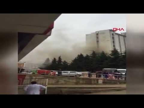 Ordu Devlet Hastanesi'nde yangın paniği!...