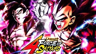 These SSJ4 Summons Are TOO POWERFUL | Dragon Ball Legends