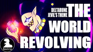 DELTARUNE - THE WORLD REVOLVING (Jevil's theme) [Rock cover by Ren Iris]