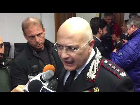 Salerno, 9 arresti auto danneggiate: intervista comandante Prov. Carabinieri