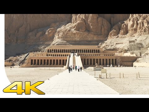 [4K] Luxor - Hatshepsut Temple - Egypt - Cinematic | [UHD] [Ultra HD] [2160p]