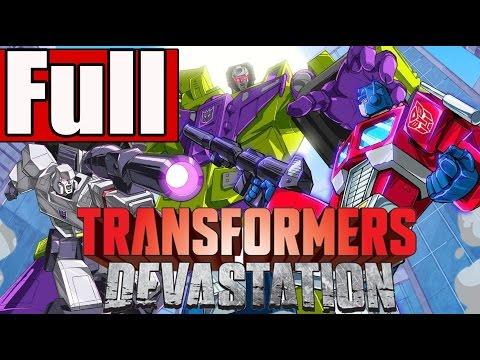 Transformers Devastation Full Game Walkthrough No Commentary PS4Transformers Devastation Gameplay)