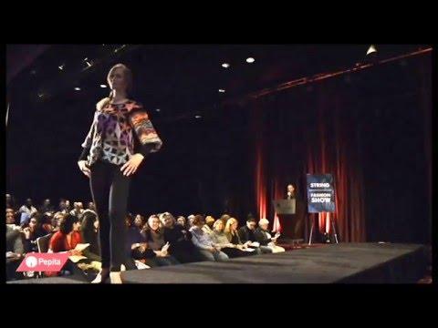 Вязаные модные модели String Yarns на Vogue Knitting LIVE 2016