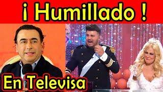 HUMILLAN a Adal Ramones en TELEVISA por haberse ido a TV AZTECA