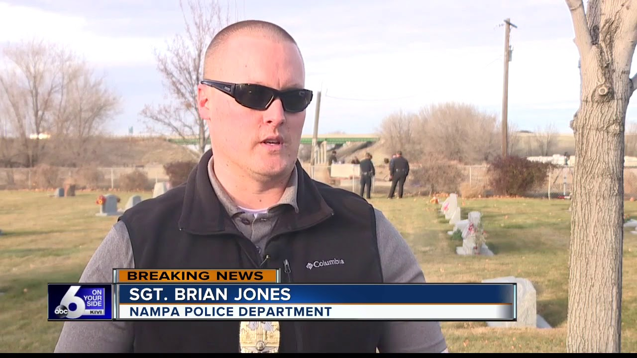 LIVE: Police investigate dead body found in ditch outside a Nampa cemetery