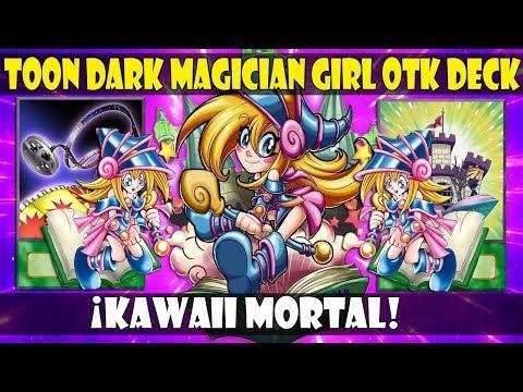 TOON DARK MAGICIAN GIRL OTK DECK   ¡LA LOLI QUE HACE OTK! - DUEL LINKS