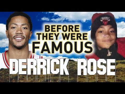 DERRICK ROSE - Before They Were Famous - Highlights from before the New York Knicks