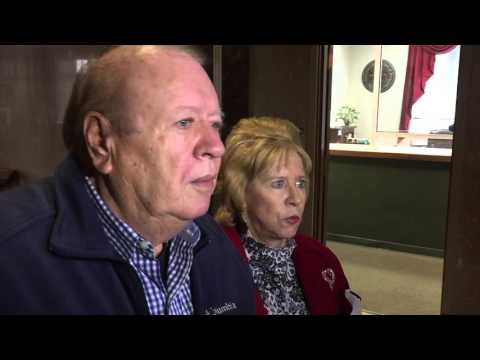 Mary and Hugh Newsom talk about Supreme Court arguments