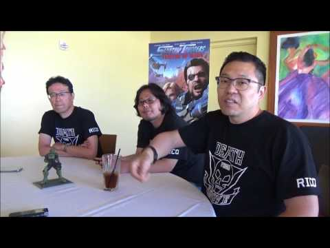 Starship Troopers: Traitor Of Mars Cast And Creative Interview: San Diego Comic Con