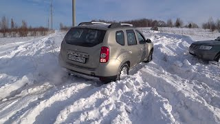 Renault Duster, Toyota Land Cruiser, Subaru Forester, Уаз, Волга, Jeep Wrangler Снежный...