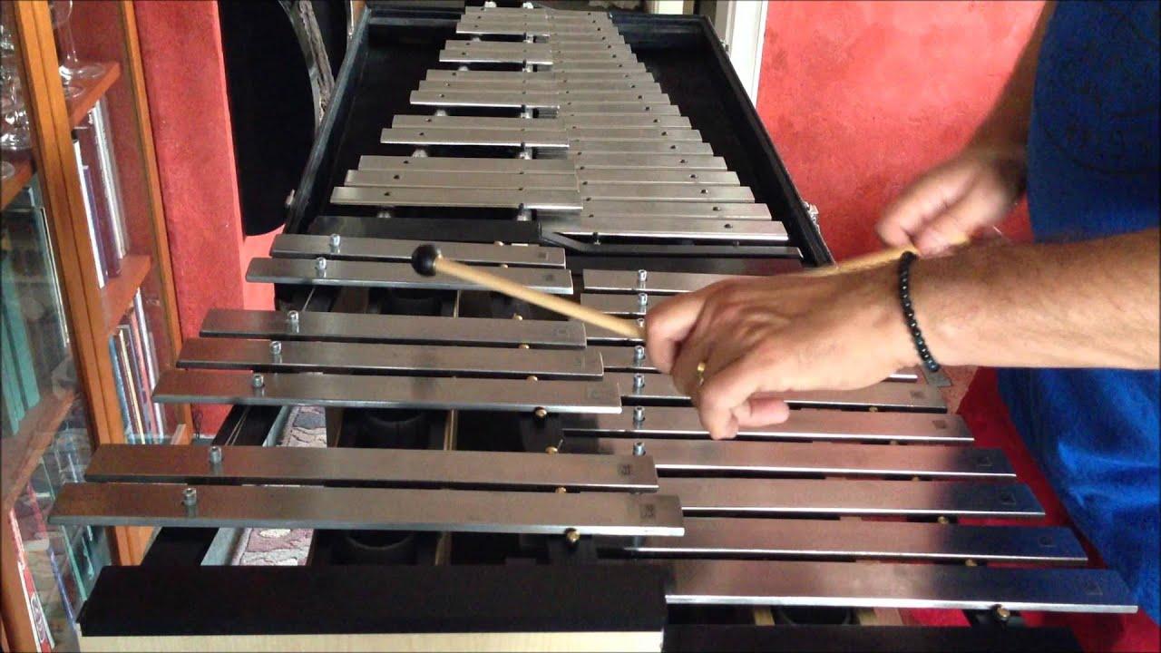 Bass Glockenspiel - Eigenkonstrukion, home-made bass chimes