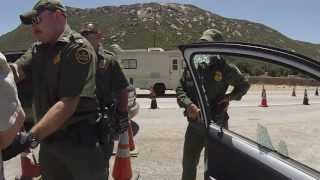 Get Out, Get Your Hands on Your Head, Get in the Hokey Pokey, US Border Patrol Checkpoint
