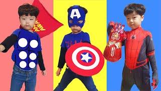 지환이와 슈퍼히어로 노래 함께 불러요 Let's sing a superhero song with Jihwan