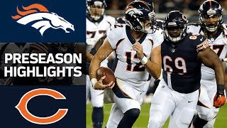 Broncos vs. Bears | NFL Preseason Week 1 Game Highlights