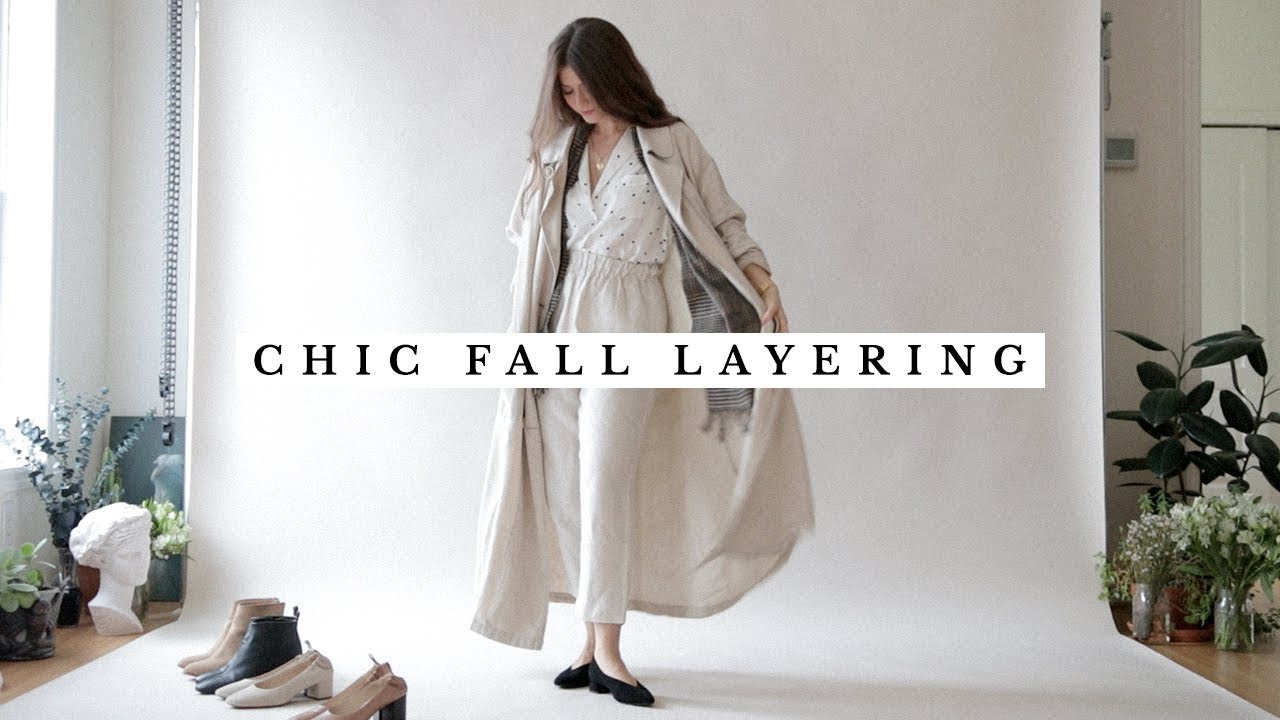 Fall Outfits 2018 - Chic Layering Ideas for Autumn 2