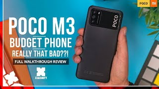 Poco M3 - Is it that bad?! Full hands-on Review with photo's, video & audio [Xiaomify]