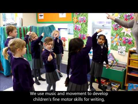 Creativity in Early Years at Weston Green School
