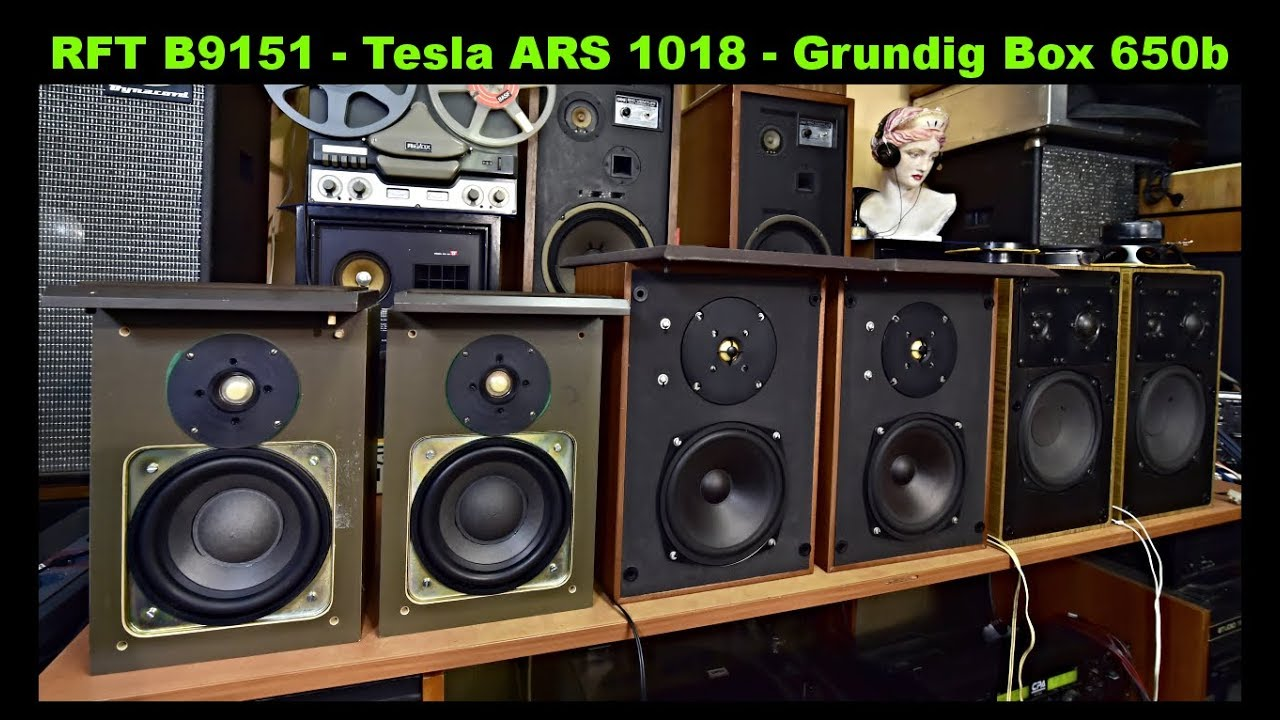 rft b9151 merkur lautsprecherbox tesla ars 1018 reprosoustavy grundig box 650b youtube. Black Bedroom Furniture Sets. Home Design Ideas