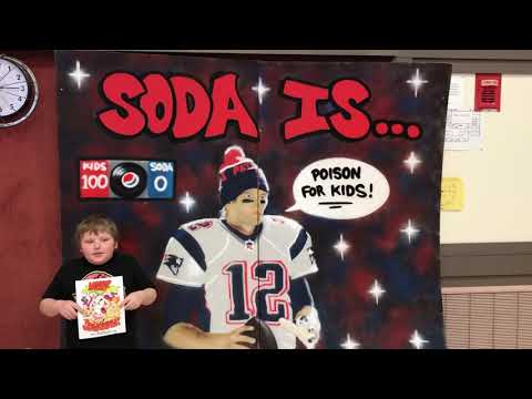 Thank you Tom Brady.  Operation: #DEFEATSODATRON at Brownville Elementary School