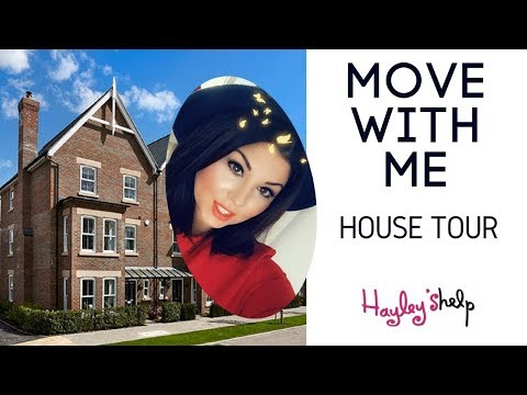 My New House Tour - Move with Me (Part 4) - Hayley Leitch