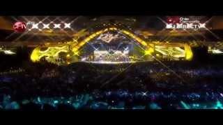 Pasarela HD - Daddy Yankee - Viña 2013