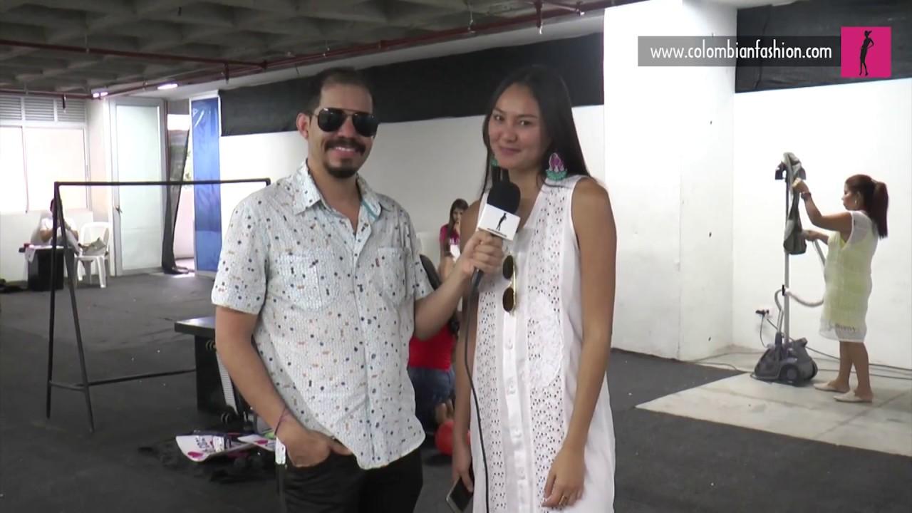 Yuriko Londoño y su inspiración en la pasarela presentada en Neiva Expo Moda
