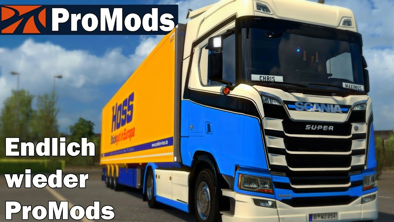 ETS2 ProMods 2 41 #1126: Endlich wieder ProMods I Euro Truck Simulator 2