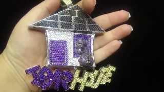 Custom Trap House Pendant