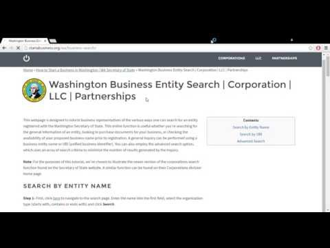 How to Start a Business in Washington | WA Secretary of State