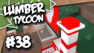 Lumber Tycoon 2 #38 - TOWER BALCONY (Roblox Lumber Tycoon)
