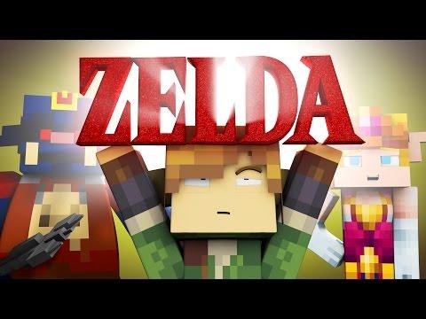Minecraft Parody - THE LEGEND OF ZELDA! - (Minecraft Animation)