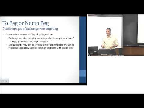 Chapter 18 Part 3:  Exchange Rate Regimes Issues And Limitations
