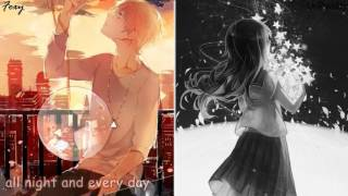 Gambar cover 「Nightcore」→ I Don't Wanna Live Forever (Switching Vocals)