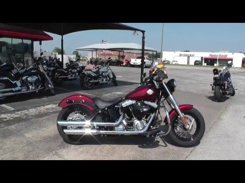 019855 – 2016 Harley Davidson Softail Slim FLS – Used Motorcycle For Sale