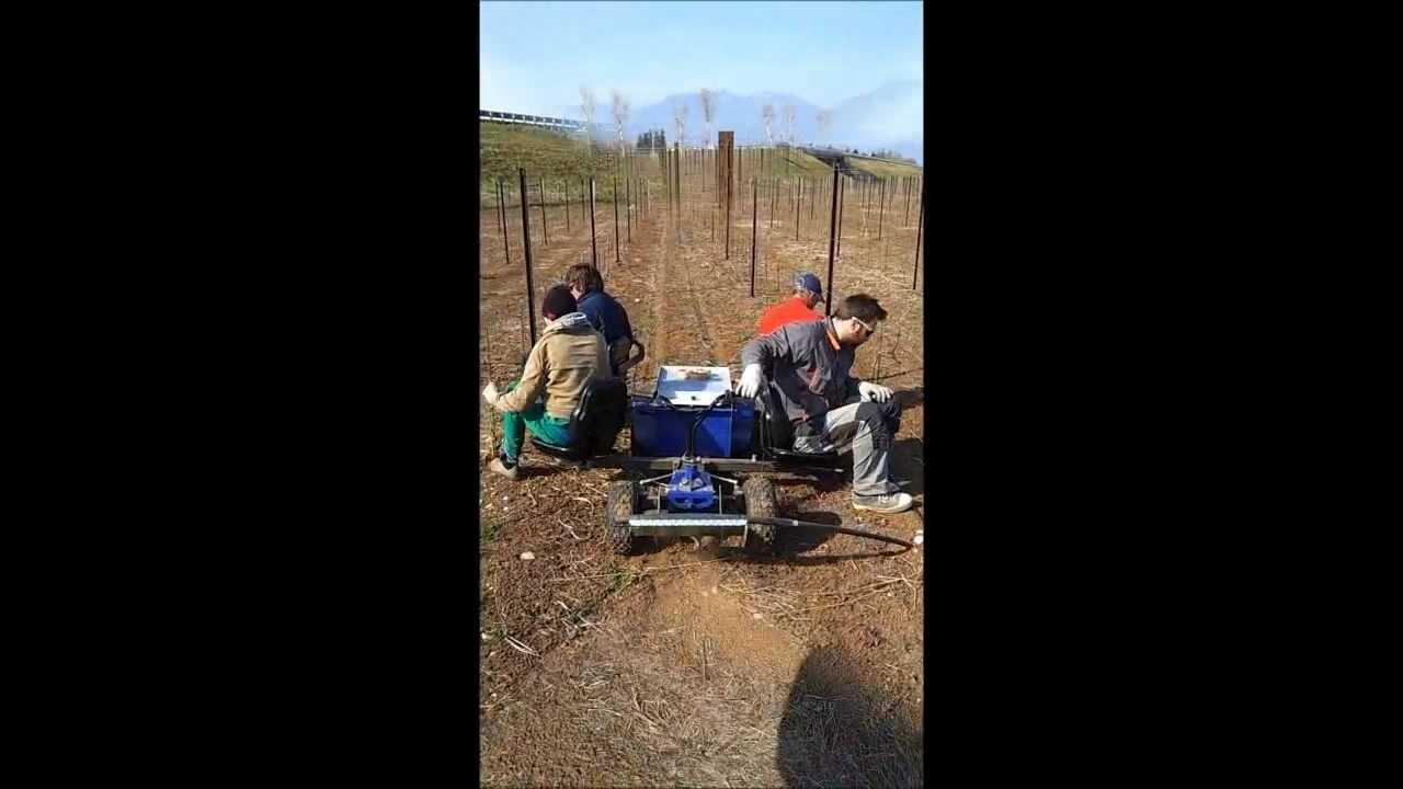 Zallys jay trattorino elettrico per viticoltura youtube