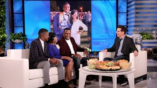 Guest Host Sean Hayes Surprises Inspiring Family of Graduates