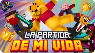 LA PARTIDA DE MI VIDA! | Minecraft Lucky Blocks - Exo, Macundra, Sarinha y Luh