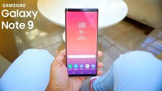 Samsung Galaxy Note 9 - Unboxing + First Impressions