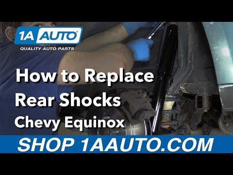 How to Replace Rear Shock 05-16 Chevy Equinox