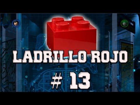"""LEGO Batman 2: DC Super Heroes - Desbloqueando """"Ladrillo de Lego Rojo - Corazones Extra # 13"""""""