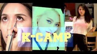ME CONVIERTO EN UNA ESTRELLA DE KPOP!! Canto/Baile/Makeup-KPOP CAMP!