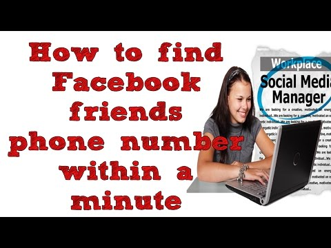 How To Find / Extract Facebook Friends Phone Number For FREE from YouTube · Duration:  3 minutes 26 seconds