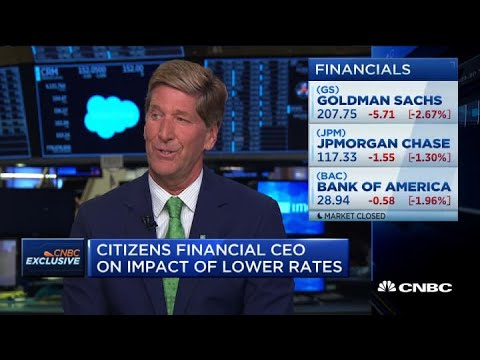 Citizens Financial CEO on regional banks, outlook and lower rates