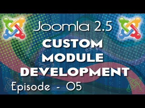 How to create Joomla 2.5 Module - Ep 5 - Creating Full ContactUs Module using Databse,Email