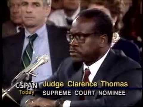 Clarence Thomas Hearings: Orrin Pontificates 2