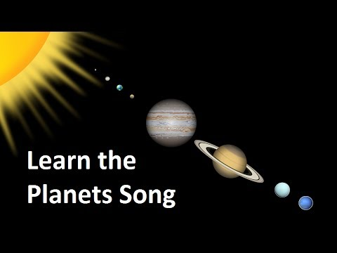 ways to memorize the planets - photo #28