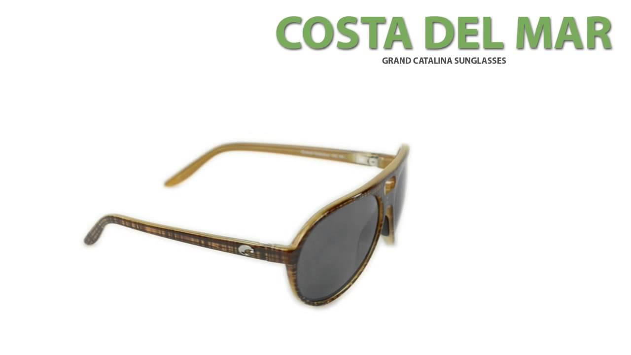 c4c5612964067 Costa Grand Catalina Sunglasses - Polarized 580P Lenses - YouTube