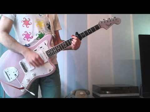 The Lomblaster - Aftermarket parts custom-made Jazzmaster - Playing some tunes with clean sound