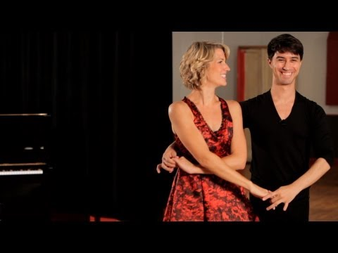 How to Do the Cuddle in Swing Dance | Ballroom Dance